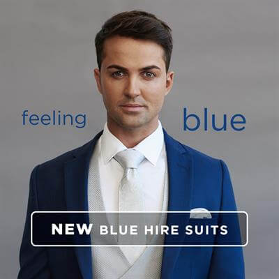 Feeling Blue - New Blue Hire Suits