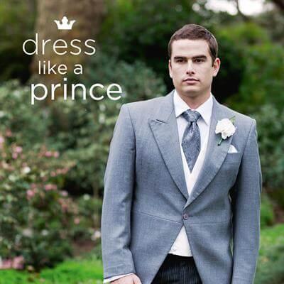 Dress like a Prince