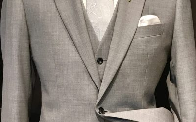 New  Dove grey suit